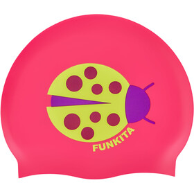 Funkita Silicone Svømningshætte 10 stykker Damer, pink/farverig
